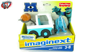 Monsters University Halloween by Imaginext Monsters University Sulley U0026 Truck Toy Review Fisher