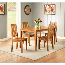 walmart dining room sets better homes and gardens bankston dining table honey walmart