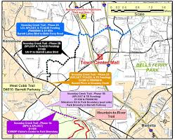 Kennesaw State Map by Atlanta Running Trails Noonday Creek Trail U2013 Half Horse Half Man