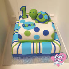 turtle cake first birthday blue and green birthday and novelty