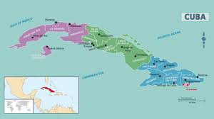 Cuba On The World Map by Maps Of Cuba Map Library Maps Of The World