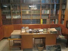 file interior of david ben gurion u0027s house in sde boker working