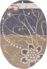 Paisley Area Rugs Surya Athena Ath5128 Purple Grey Floral And Paisley Area Rug