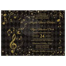 black and gold wedding invitations black gold harlequin wedding invitation