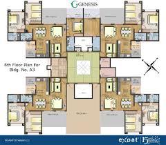 apartment floor layout expat properties i ltd genesis alandi