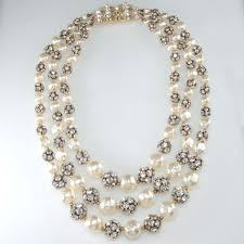 elegant white pearl necklace images 46 pearl necklace pendant paso a paso cmo hacer un collar de jpg