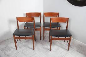 Set Of Four Dining Chairs Set Of Four Dining Chairs A Classic Mid Century Produced By