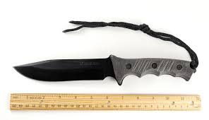 schf3n extreme survival fixed blade knife w micarta handle