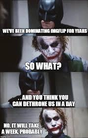 Batman Joker Meme - batman and joker imgflip