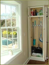 12 inch broom cabinet the simple broom closet cakegirlkc com