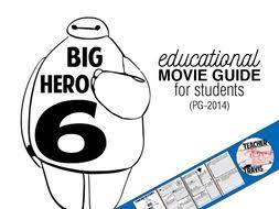 big hero 6 movie viewing guide travis82 teaching resources tes