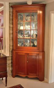 Antique Corner Cabinets Federal Cherry Corner Cupboard Sold Raymond James Antiques