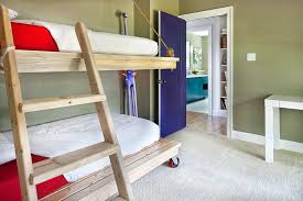 Pictures Of Bunk Beds With Desk Underneath Beds On Casters 15 Designs That Wheel In Style And Comfort