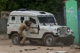 indian army jeep in india u0027s kashmir conflict the newest threat is teenage girls
