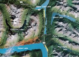Kenai Alaska Map by Utilities The Mouth Of The Kenai