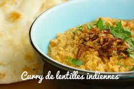 cuisiner indien recette curry de lentilles indien végétarien ou dhal curry