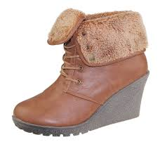 womens fur boots canada womens ankle boots fur collar trainer sneaker wedge heel