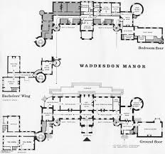 waddesdon the present configuration of the ground floor
