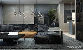 Grey Living Room Rug Architecture Living Room Family Residence By The Ukrainian Firm