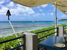 picture perfect oceanfront dining on barbados u0027 west coast one