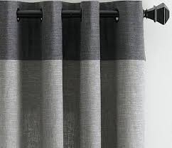 Marrakech Curtain Gray Panel Curtains Marrakech Black And Gray Curtain Panel Set 96