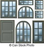 Different Windows Designs Windows Clipart And Stock Illustrations 161 120 Windows Vector