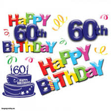 lovely 60th birthday card intended for happy 60 birthday images