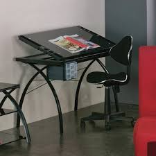 Drafting Table Top Material Studio Designs Futura Drafting Table With Glass Top And Chair