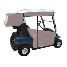 Golf Curtains Golf Cart Enclosure Side Curtains And Club Cover Combo Deal Club