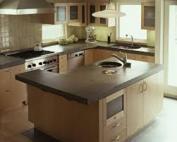 Concrete Kitchen Cabinets White Concrete Kitchen Countertops Wrong Photo But This Is Link
