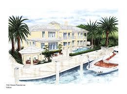 Waterfront Key Floor Plan by Fort Lauderdale Luxury Waterfront Real Estate