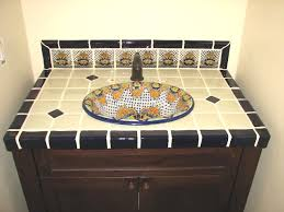 special 5 porcelain tile corner and medallion design mexican tile