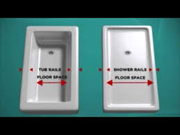 How To Convert Bathtub To Shower Bath Fitter Tub To Shower Conversion Youtube