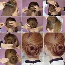 juda hairstyle steps how to diy elegant twisted hair bun hairstyle bun hairstyle