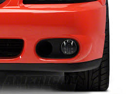 2003 04 mustang cobra fog light bezel kit ford mustang cobra bumper foglight bezel left side 2r3z 15b438 ba