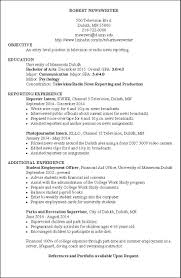 Examples Of Resumes by Great Resume Example