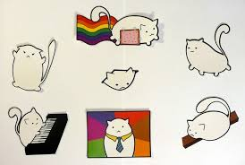 Meme Stickers - fat cat meme stickers by keska on deviantart