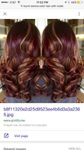 Red Hair Color With Highlights Pictures 1169 Best Hair Styles Images On Pinterest Hairstyles Hair And