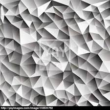3d abstract shining ice cubes vector geometric web background