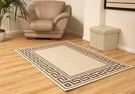 tappeti polipropilene aspect 120 x 170 cm beige con stile greco pattern polipropilene