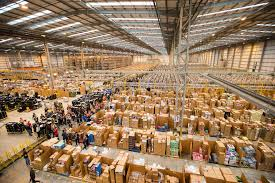 uggs amazon black friday this is what an amazon warehouse looks like a month before