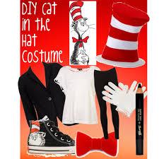 Cat In The Hat Costume Diy Cat In The Hat Costume Polyvore