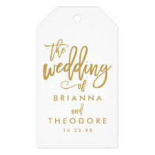 wedding gift letter letter gift tags zazzle