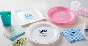 personalized baby plate personalized baby shower products baby showers party city
