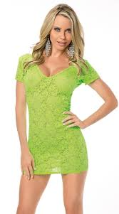 lime green lace dress green lace mini dress