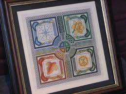 how to frame your cross stitch feltmagnet
