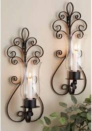 Tuscan Candle Wall Sconces Dessau Home N847 Antique Brass Two Mirror Hurricane Wall Wall