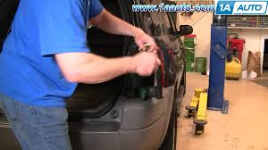 how to replace tail light bulb how to install replace taillight and bulb ford escape 01 07 1aauto