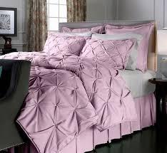 Light Pink Comforter Queen Vern Yip Faux Linen Comforter Set