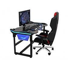 bureau pour gamer bureau gamer pour gaming et esport e blue amazon fr high tech